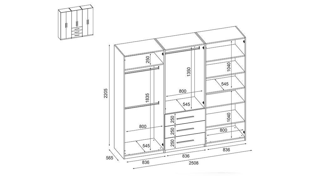 www.meblast.pl Szafa 250 220 szafy otwierane szafy przesuwne (7)